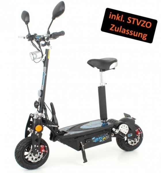 sxt 1000 xl eec e scooter elektro roller mit strassenzulassung in weiss e bikes e scooter. Black Bedroom Furniture Sets. Home Design Ideas