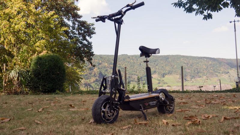 Elektro Roller E-Scooter Tretroller 1500W Brushless 48V NEU