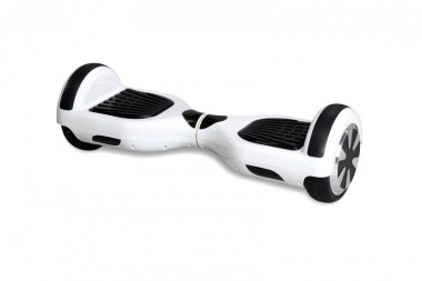 "Hoverboard - Selbstbalancierender E-Scooter - Elektro Board Modell AB700 6.5"" - weiss"