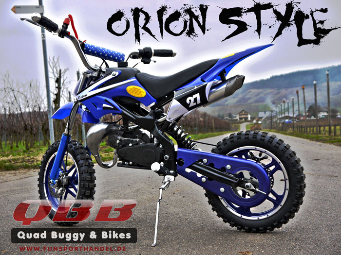 Dirtbike Pocket Bike 49 ccm 