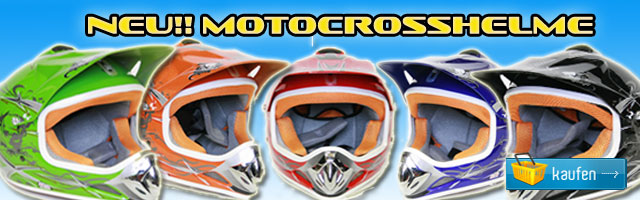 Helm f&uuml;r Kinder Moto Cross Helm f&uuml;r Kinder