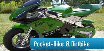 Pocketbike / Dirtbike 50cc - 125ccm