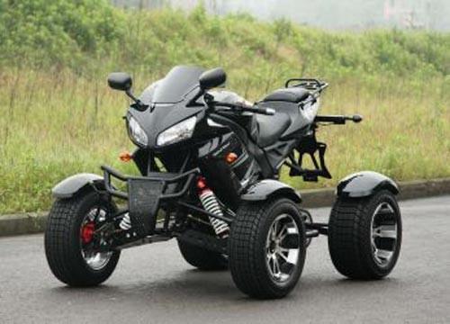 Shineray Quad XY350ST in Schwarz 350cc
