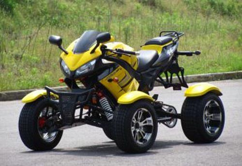 Shineray Quad XY350ST in Gelb 350cc