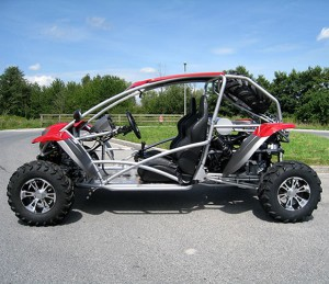 "Buggy ""Luck Vehicle"" 500cc mit Straßenzulassung 004"