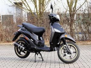 motorroller benero gt 50 supersport 2 takt orange. Black Bedroom Furniture Sets. Home Design Ideas