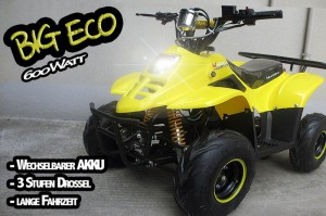 "Kinder Quad elektrisch ""BIG ECO 600W"" 004"