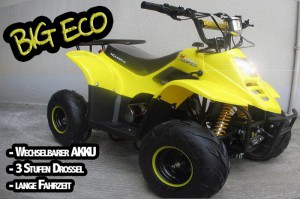 "Kinder Quad elektrisch ""BIG ECO 600W"" 006"