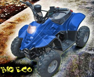 "Kinder Quad elektrisch ""BIG ECO 600W"" 001"