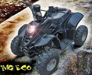 "Kinder Quad elektrisch ""BIG ECO 600W"" 002"