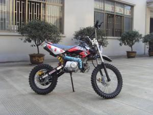 125ccm Automatik Dirtbike Cross Bike 17/14 Reifen inkl. E-Starter 007