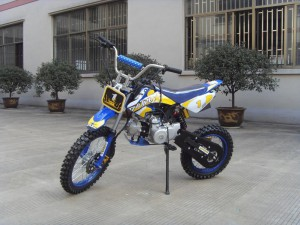 125ccm Automatik Dirtbike Cross Bike 17/14 Reifen inkl. E-Starter 004
