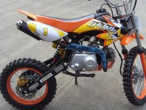 125ccm Automatik Dirtbike Cross Bike 17/14 Reifen inkl. E-Starter 010