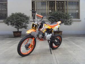 125ccm Automatik Dirtbike Cross Bike 17/14 Reifen inkl. E-Starter 006