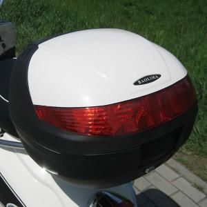 motorroller 50ccm retro roller mit 45 km h flash weiss motorroller mofa. Black Bedroom Furniture Sets. Home Design Ideas