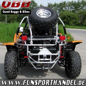 Buggy Kinroad XT1100GK - mit Straßenzulassung in Orange