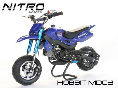 Pocketbike Dirt Bike 50ccm - 2 Takt - Hobbit