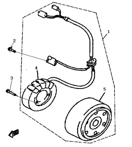 Lichtmaschine Buyang FA-D300