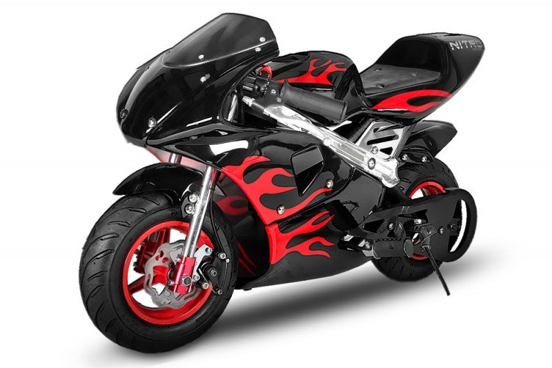 pocket bike 49cc turboracer xs77 mit notausleine pocket bike dirtbike. Black Bedroom Furniture Sets. Home Design Ideas