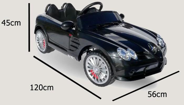 kinderauto elektrisch mercedes slr mit fernbedienung und. Black Bedroom Furniture Sets. Home Design Ideas