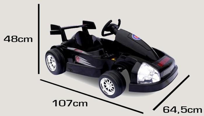 elektroauto formula inkl fernsteuerung u 2 x 30 watt. Black Bedroom Furniture Sets. Home Design Ideas