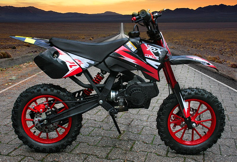 49ccm dirt bike dirtbike 10 zoll reifen coyote pocket bike. Black Bedroom Furniture Sets. Home Design Ideas