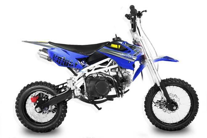 sky dirtbike 125cc mit up side down gabel pocket bike. Black Bedroom Furniture Sets. Home Design Ideas