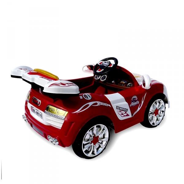 kinderauto elektrisch sportwagen cabrio a style 2x30watt. Black Bedroom Furniture Sets. Home Design Ideas