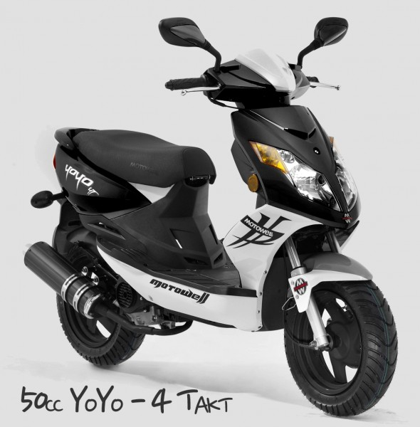 motorroller 50cc yoyo 4 takt 45 km h von motowell motorroller mofa. Black Bedroom Furniture Sets. Home Design Ideas