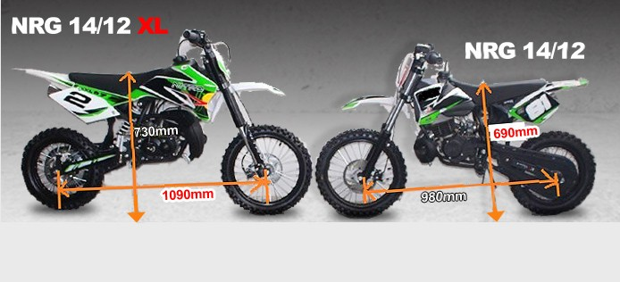 Dirt Bike 49ccm Wassergekühlt NRG