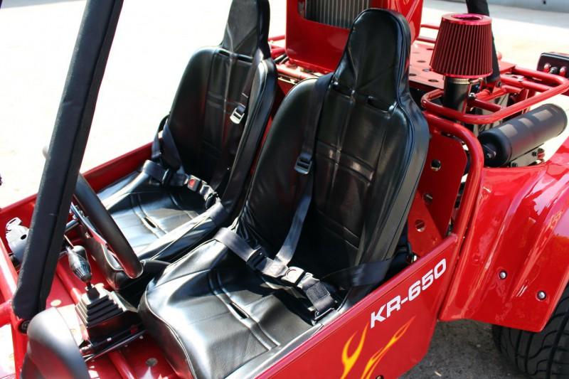 Kinroad Strandbuggy 650cc - Sportsitze für 2 Personen