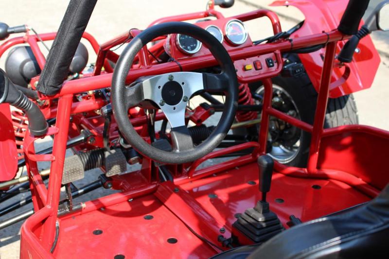 Kinroad Buggy 650ccm Cockpit