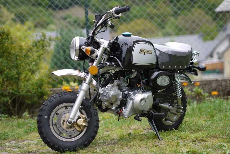 skyteam st 50 8a 50ccm gorilla nachbau skyteam motorrad. Black Bedroom Furniture Sets. Home Design Ideas