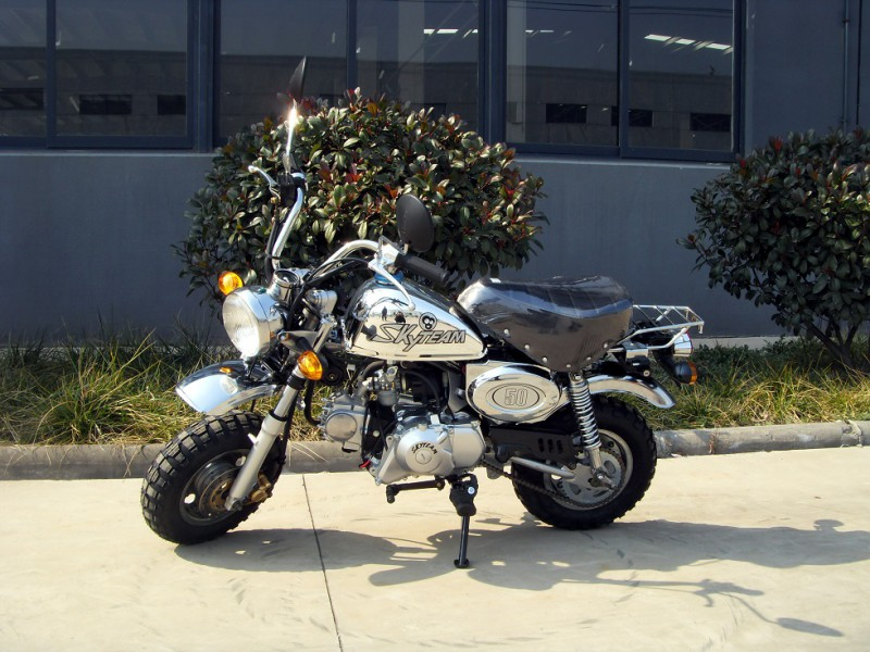 skyteam st50 8 50ccm chrome edition pocket bike dirtbike. Black Bedroom Furniture Sets. Home Design Ideas