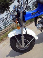 Skyteam T-Rex50 Federbein vorne