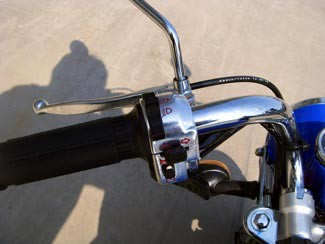 Skyteam ST125 Monkey Lenker links
