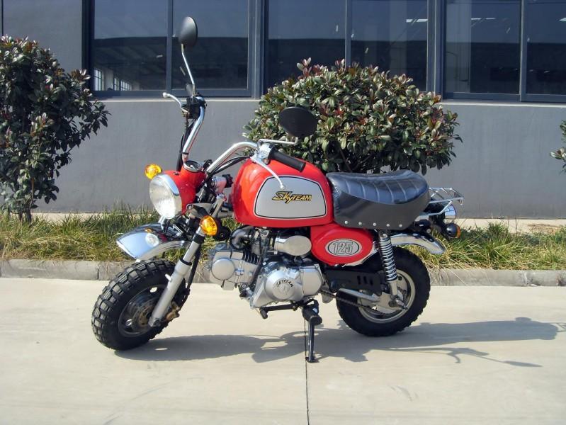 skyteam st 125 8a 125ccm gorilla replikat skyteam motorrad 50cc 125ccm. Black Bedroom Furniture Sets. Home Design Ideas