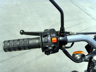 Skyteam Crossbike / Dirtbike 50cc lenker links