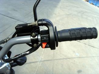 Skyteam 50cc Cross Bike mit Straßenzulasung lenker rechts