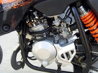 Skyteam 50ccm Cross Bike mit Straßenzulassung Motor