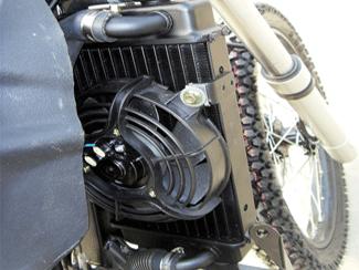 Skyteam 50ccm Dirtbike mit Straßenzulassung - Wassergekühlt