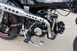 Skyteam Dax ST-50-6 Auspuff + Fußbremse