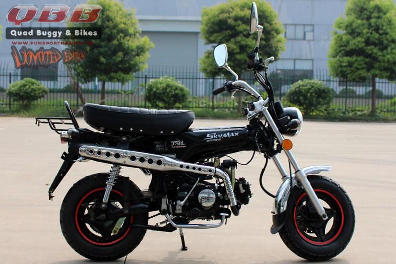 skyteam dax 125 st125 6 125ccm mini motorrad f r 2. Black Bedroom Furniture Sets. Home Design Ideas