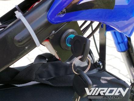 Elektrisches Dirtbike 800 Watt - 36V Zündschloss