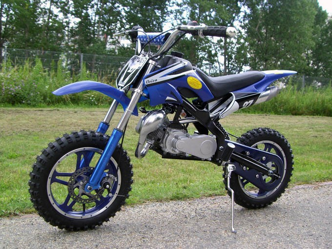 49cc dirtbike im orion style mit 10 gro en reifen pocket bike dirtbike. Black Bedroom Furniture Sets. Home Design Ideas