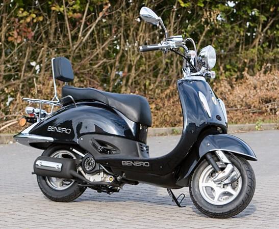 retro roller 50ccm atilla von benero motorroller mofa