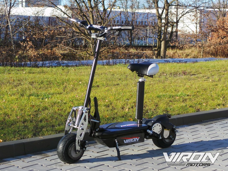 elektro roller viron e scooter mit 800 watt elektromotor