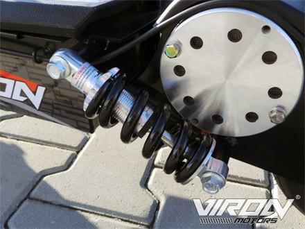 Elektro Roller 800 Watt Federbein