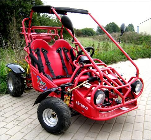 Kinderbuggy gokart buggy für kinder mit 110ccm 4 takt motor 010