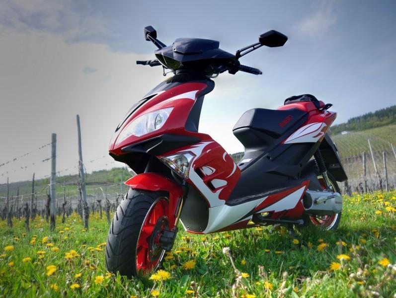 benero gt 50 supersport 2 takt motorroller red power. Black Bedroom Furniture Sets. Home Design Ideas